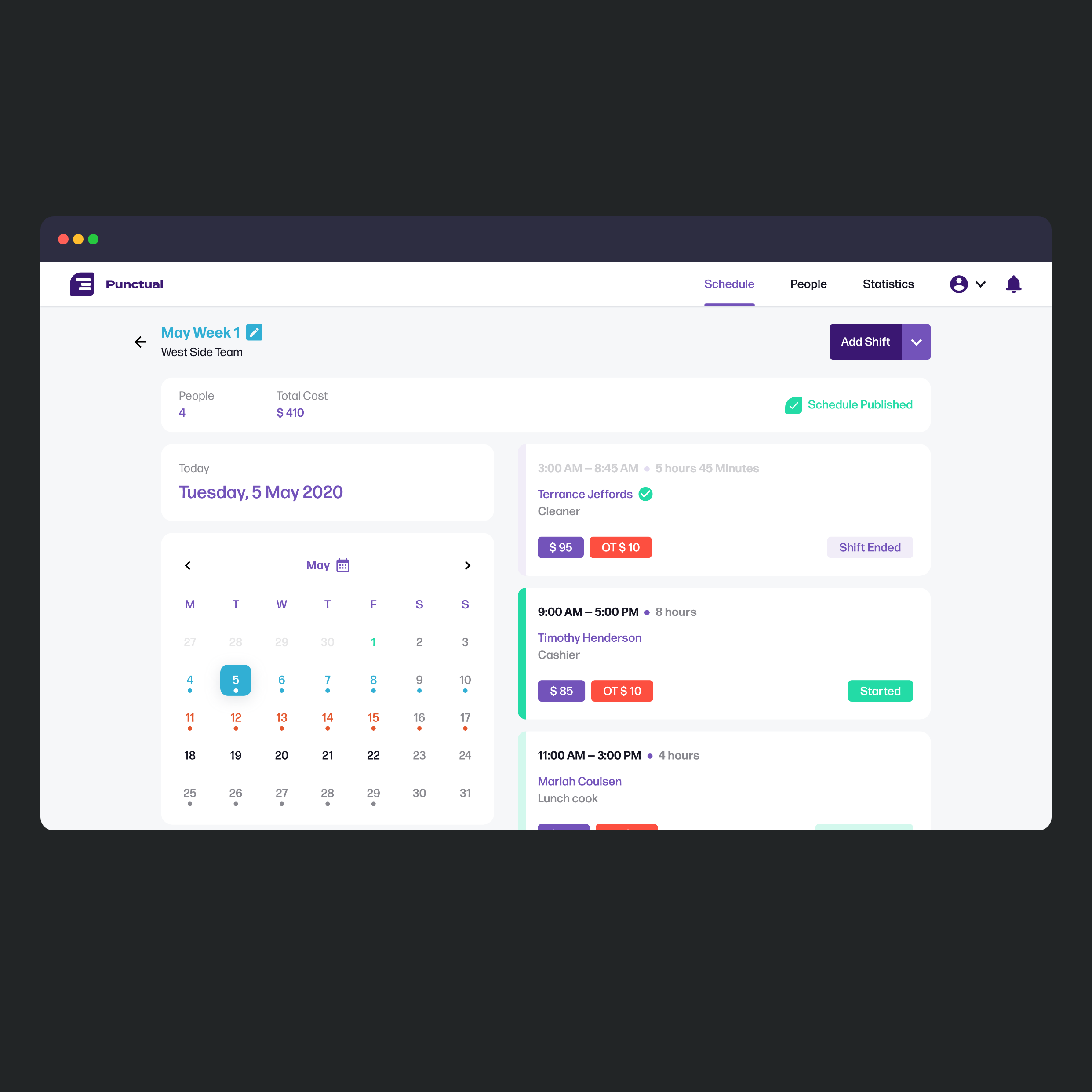 UI Design Concept