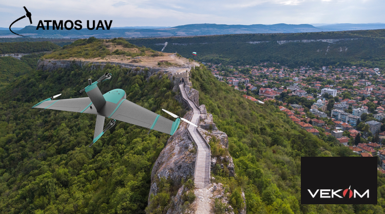 Marlyn VTOL drone flying over Bulgaria