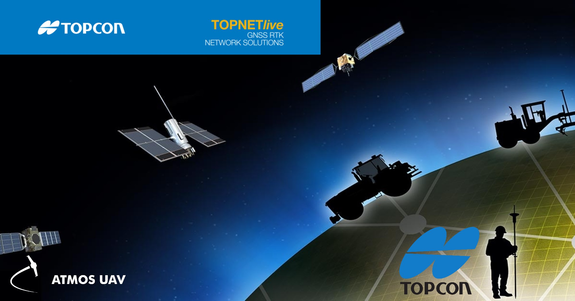 Atmos UAV partners with Topcon Positioning