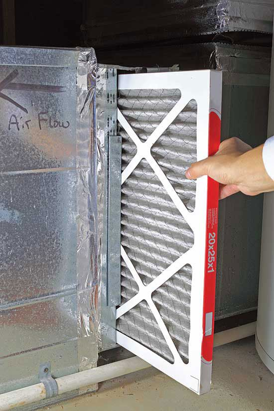 replace furnace filter