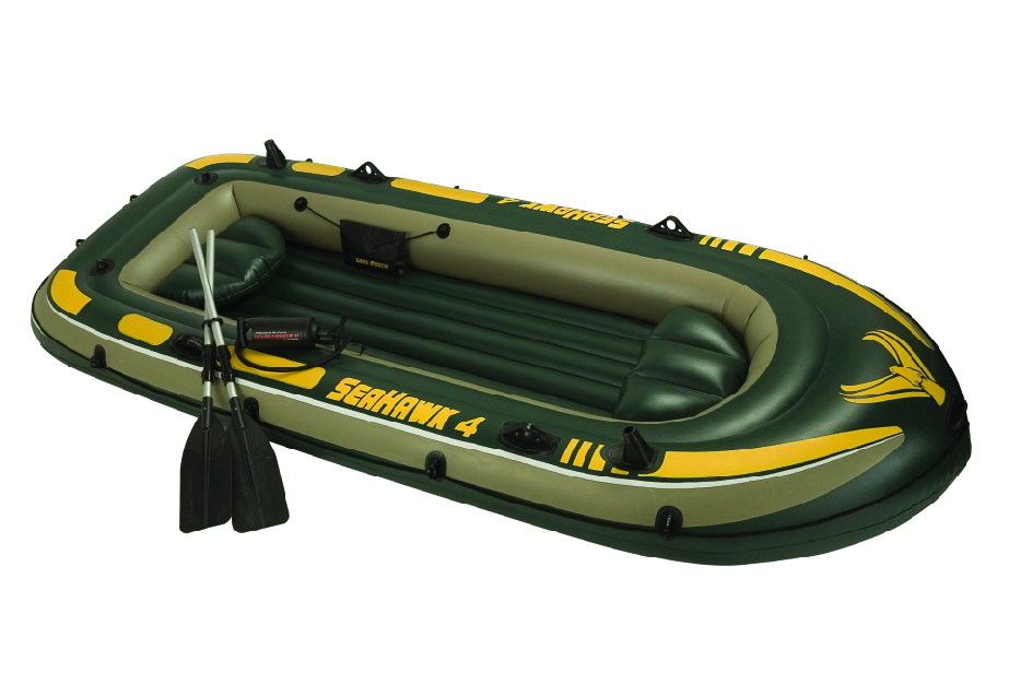 Bote inflable 4 adultos