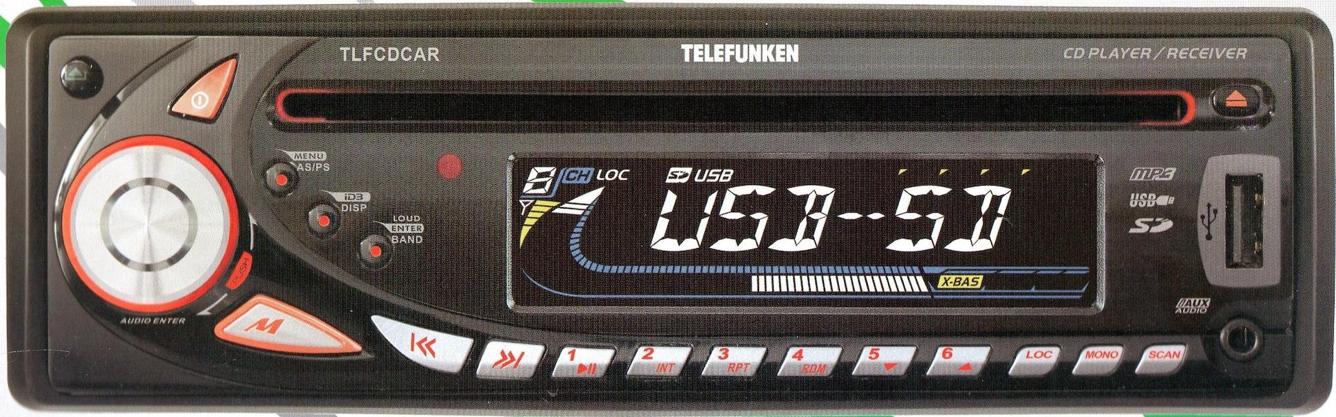 TELEFUNKEN  - TLFCDCAR