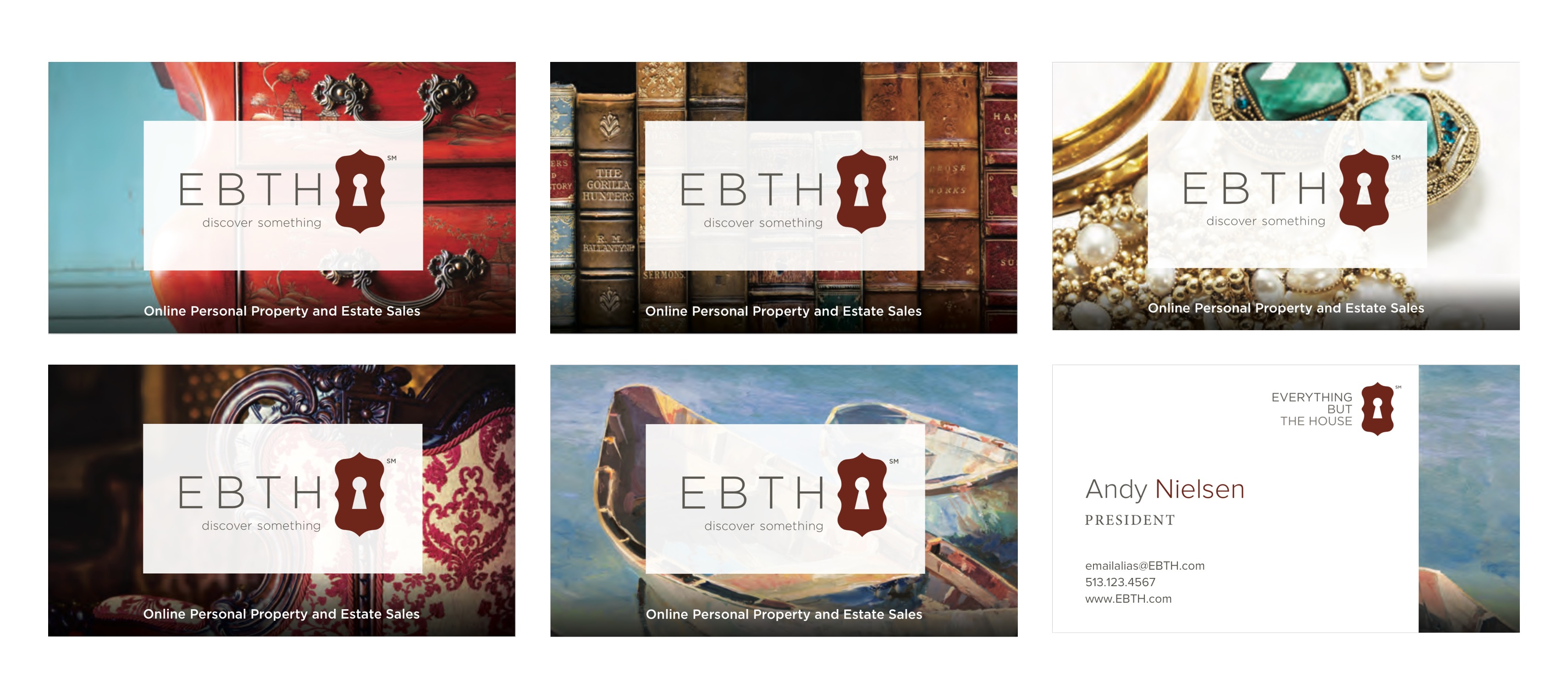 EBTH - Branding - Business Cards