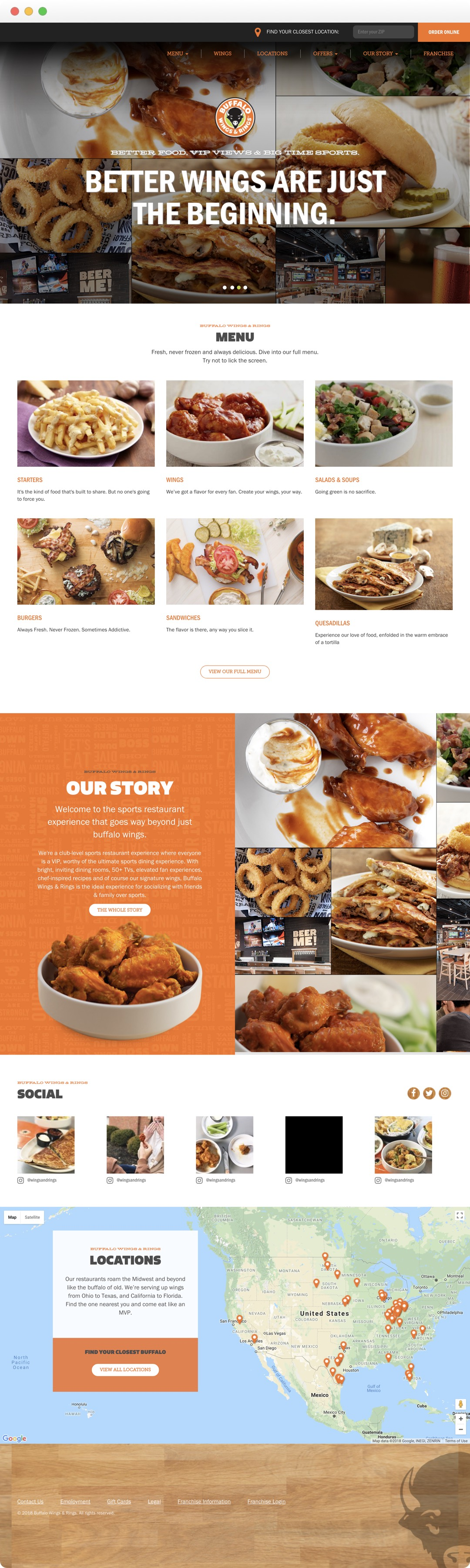 Buffalo Wings & Rings - Home page