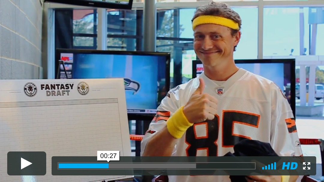 Buffalo Wings & Rings - Fantasy Football - Video