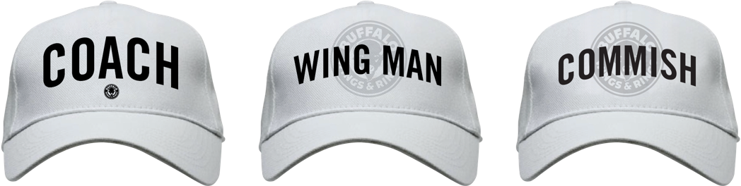 Buffalo Wings & Rings - Fantasy Football - Ball caps