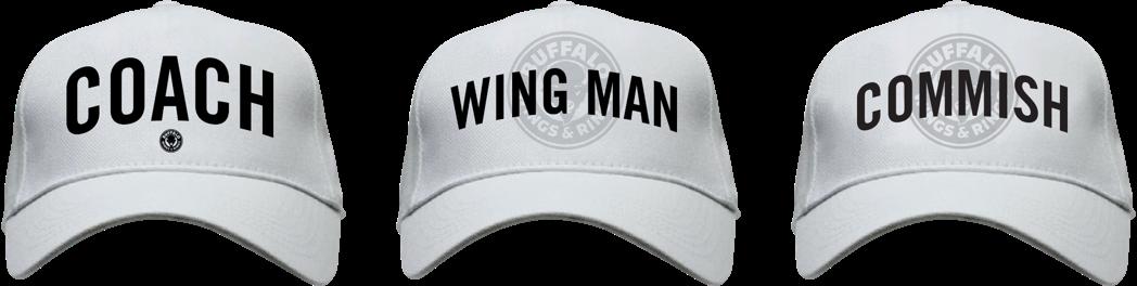 Buffalo Wings & Rings - Fantasy Football - Ball caps