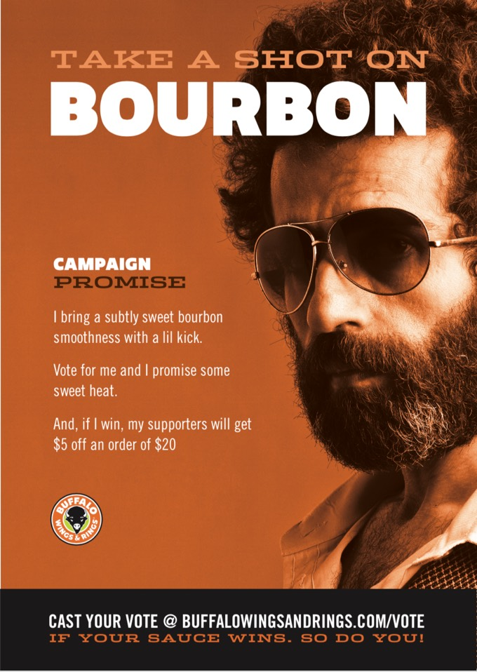Buffalo Wings & Rings - Promos - Sauce campaign