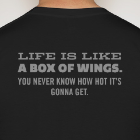 Buffalo Wings & Rings - Promos - Tee Design
