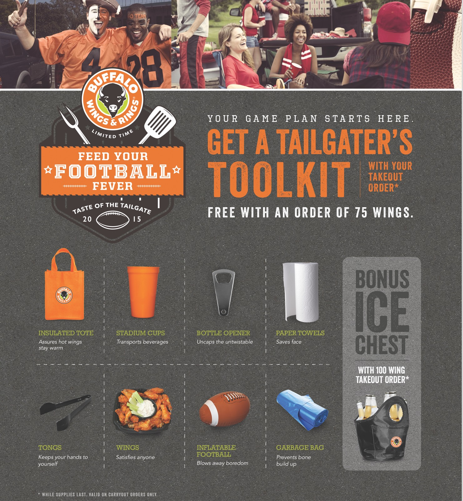 Buffalo Wings & Rings - Promos - Tailgate Toolkit