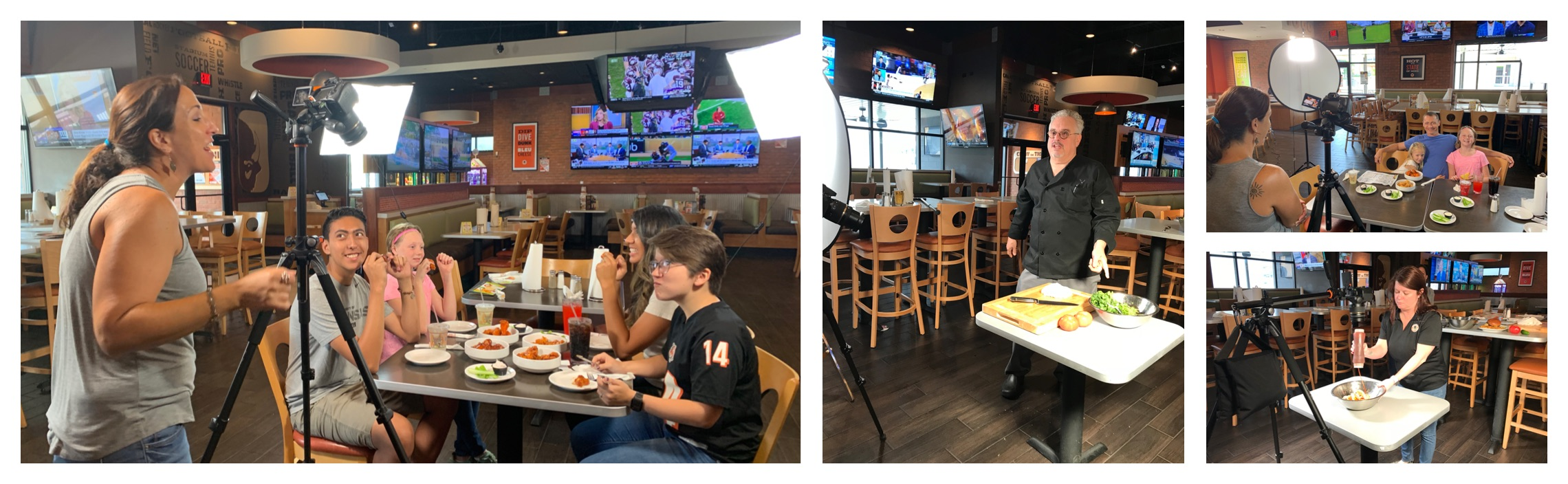 Buffalo Wings & Rings - Photo & Video Shoot