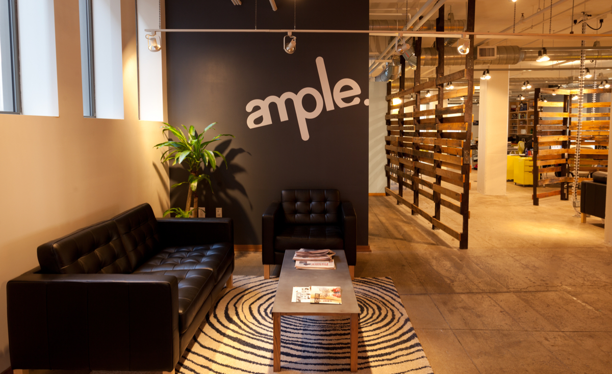 Ample's office in Cincinnati, Ohio