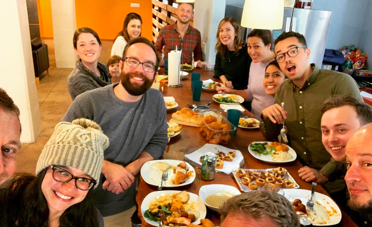 Friendsgiving at Ample