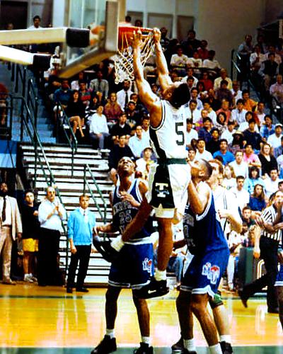 G.J. Hunter college basketball at Tulane University.