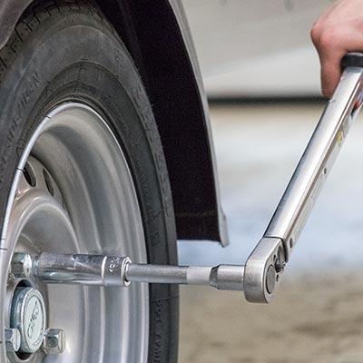 Pumpning af dæk step 2