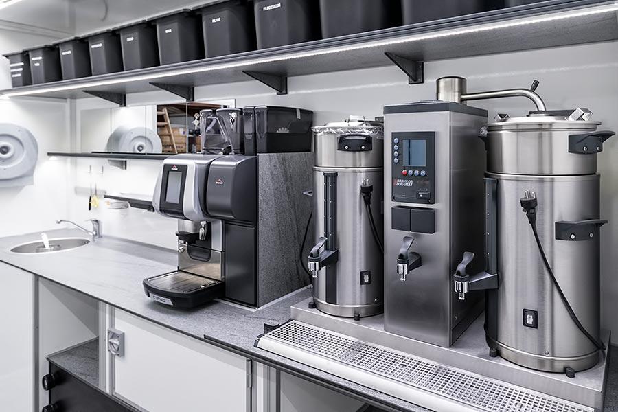 Kaffe salgsvogn