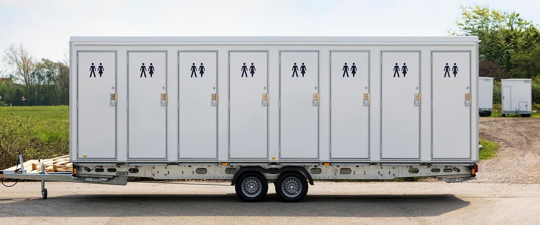 Scanvogn toilet cabin 16 people