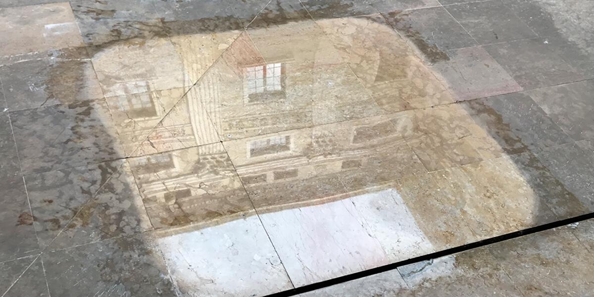 Una restauración de mármol súper extrema