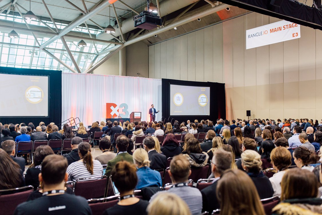 Dx3 2018 keynote crowd