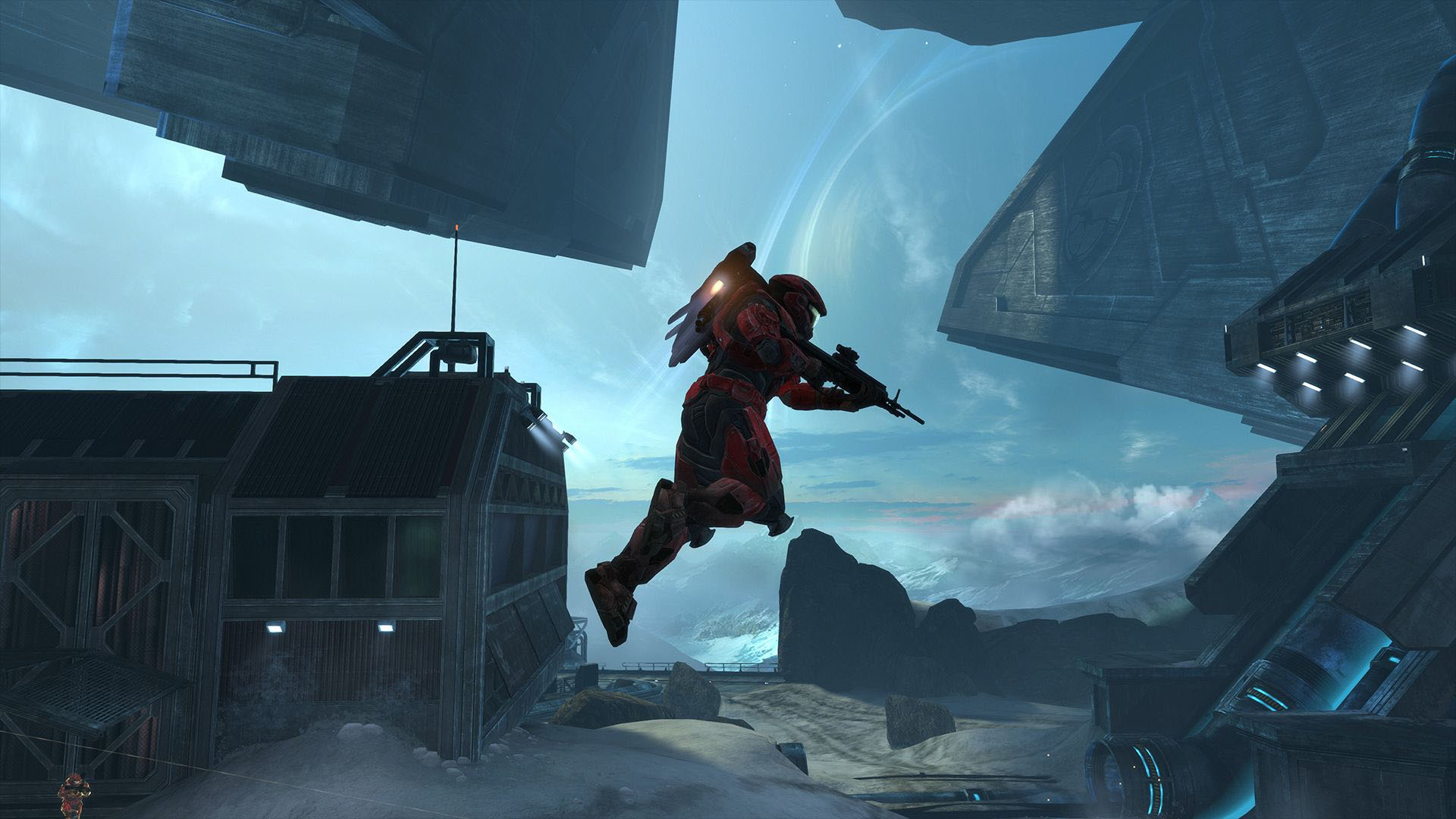 First Person Restarting The Fight Halo Master Chief