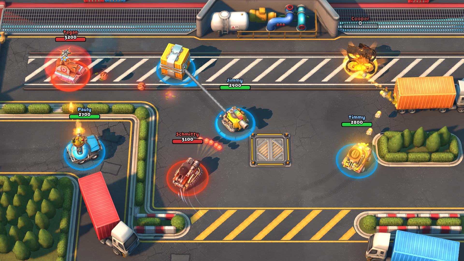 Pico Tanks by Panda Arcade