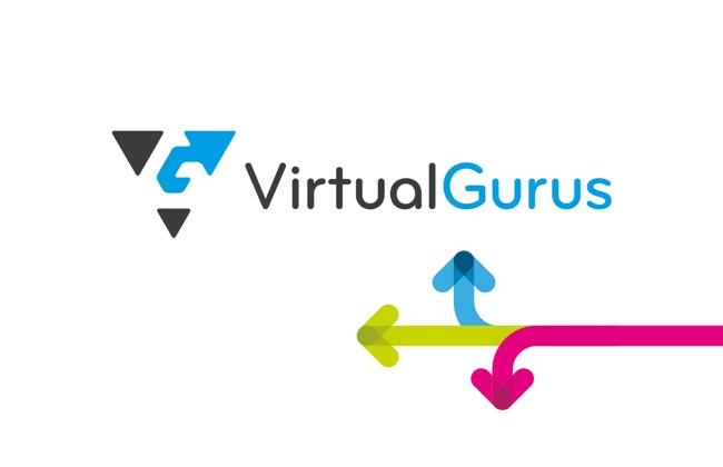 Virtual Gurus Business Card Design
