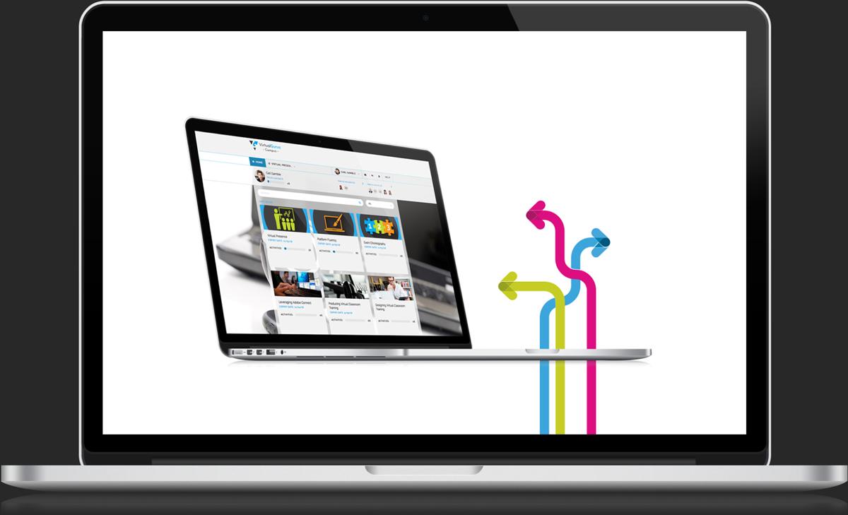 Virtual Gurus Motion Graphic Laptop