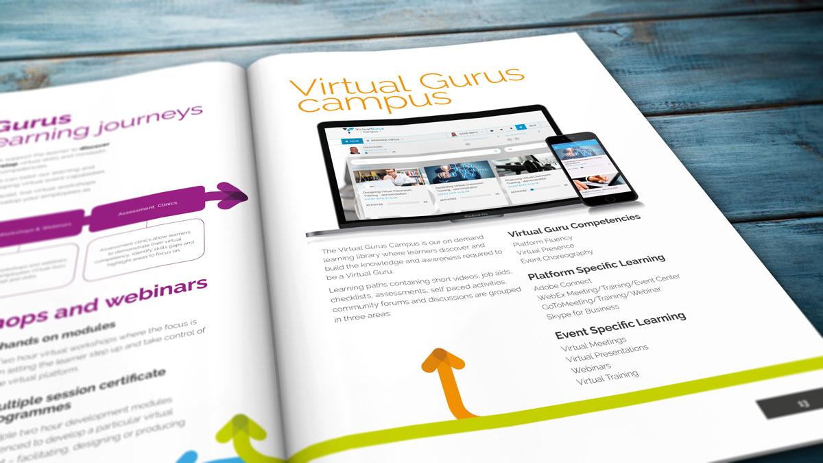 Virtual Gurus Brochure Design