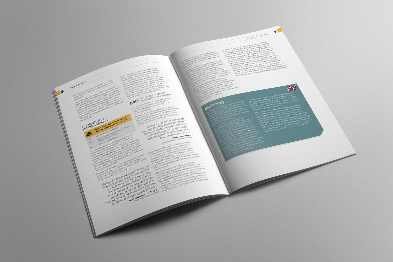 Modern Slavery Report Design