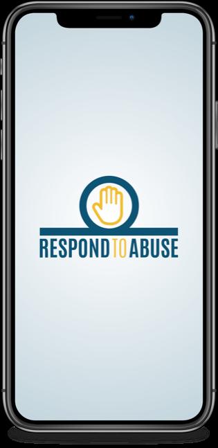 Respond to abuse logo design