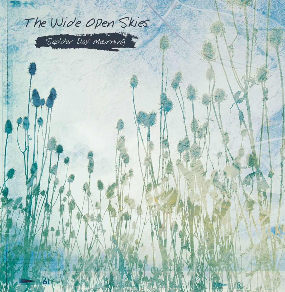 The Wide Open Skies CD album cover design