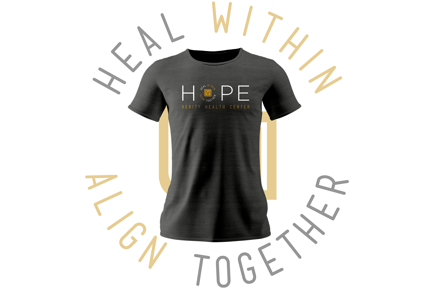 Heal Within Align Together Tshirt