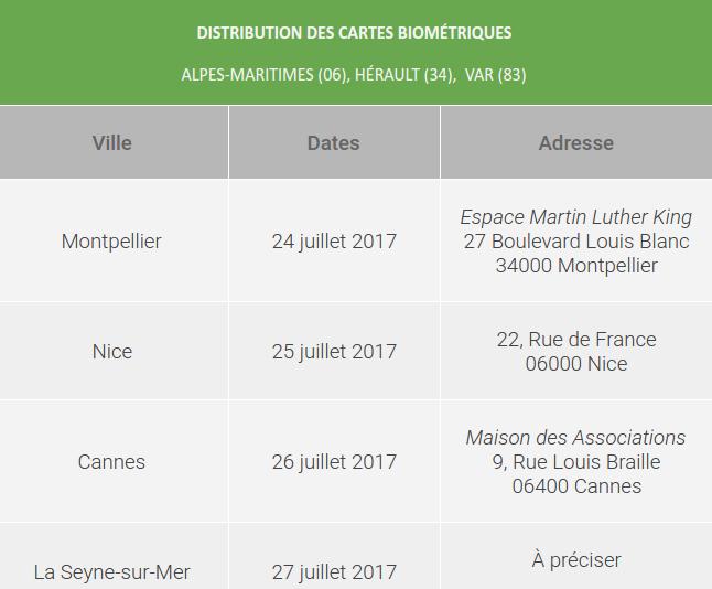 Cartes Biométriques - Consulat Général du Sénégal à Marseille