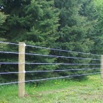 Poly Coat Horse Fence