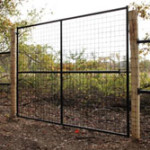 Expanded Metal Field Gates for Deer