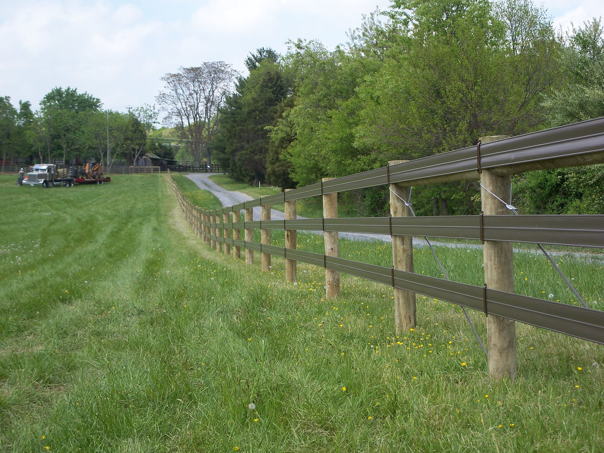 Horse Rail Fence in Maryland