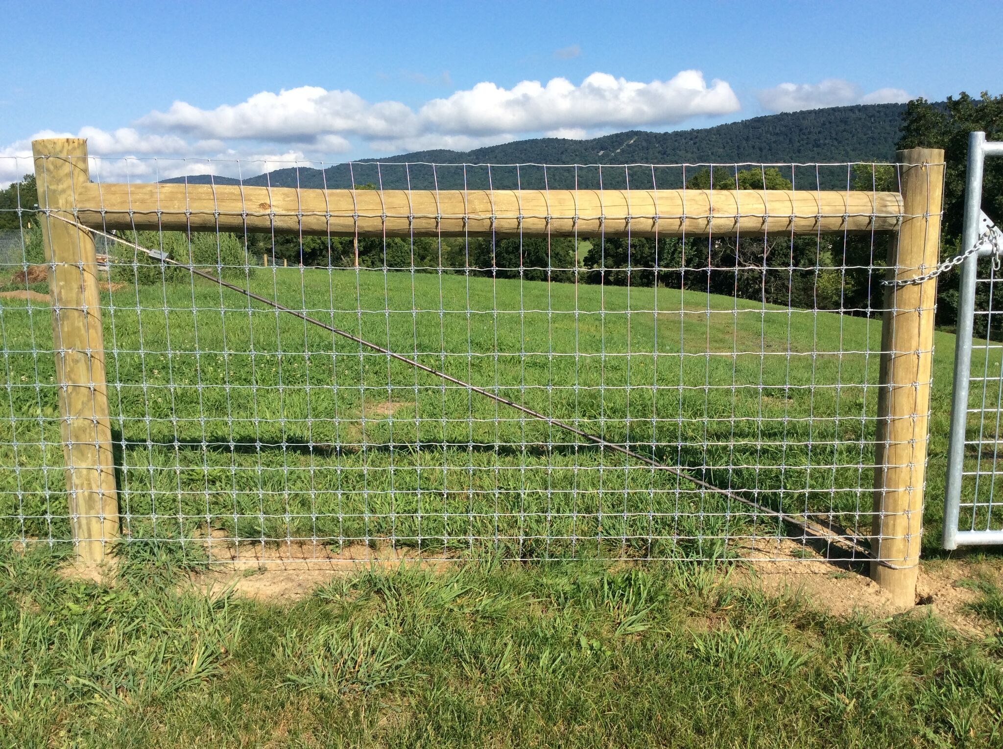 Woven Wire Fence in Mercersburg