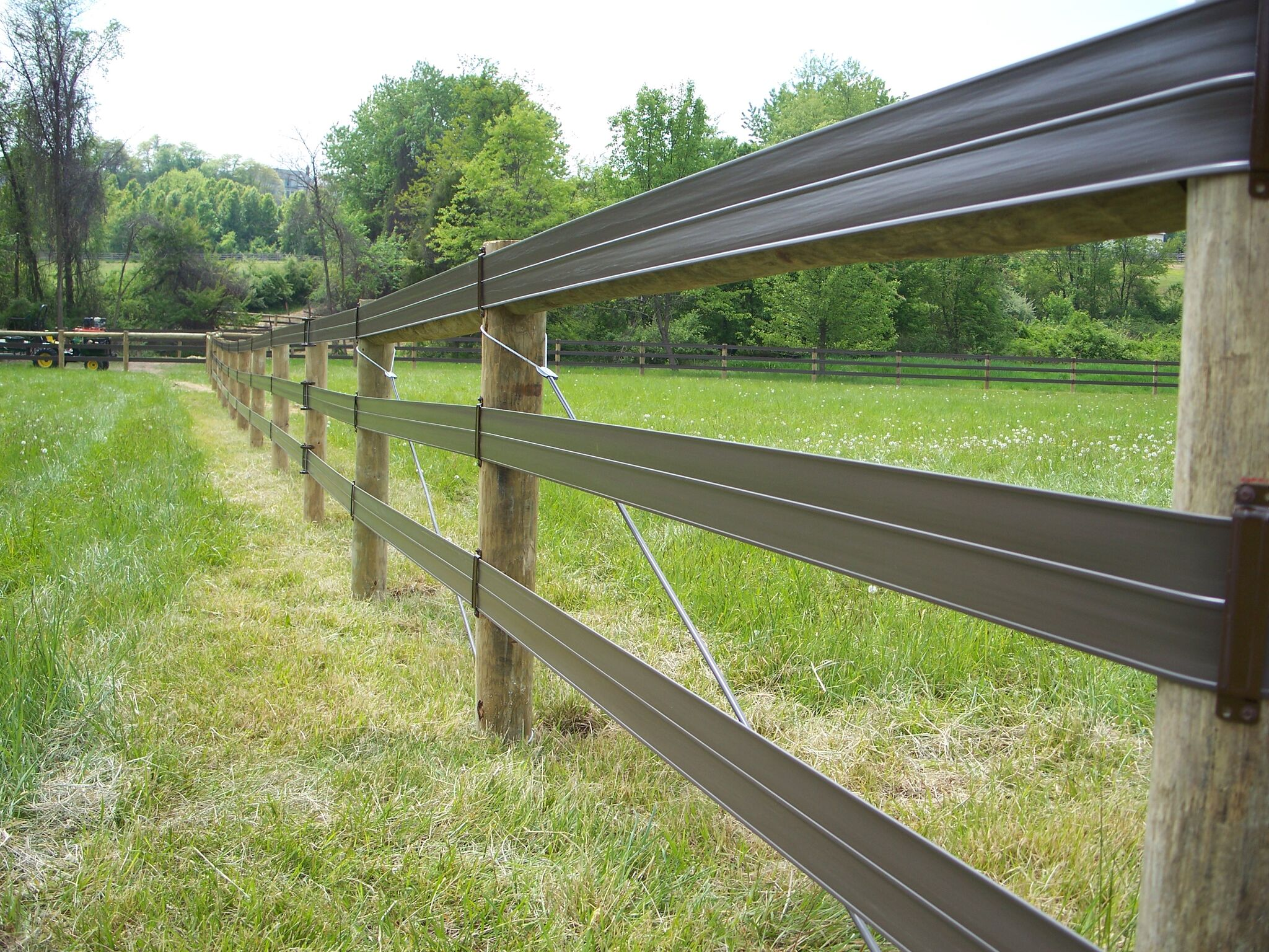 Horse Rail Fence in St. Thomas