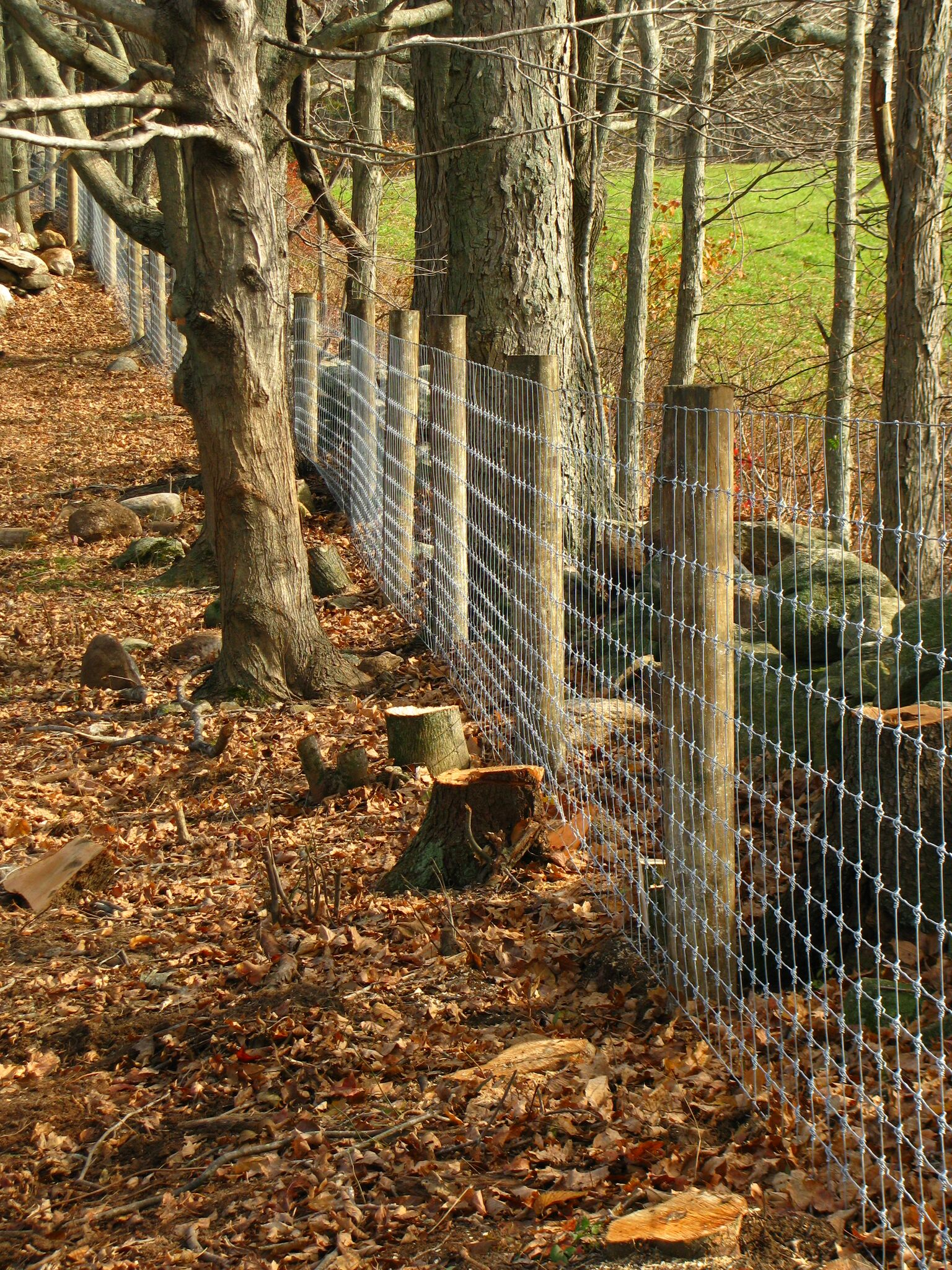 Smithsburg Woven Wire Fence