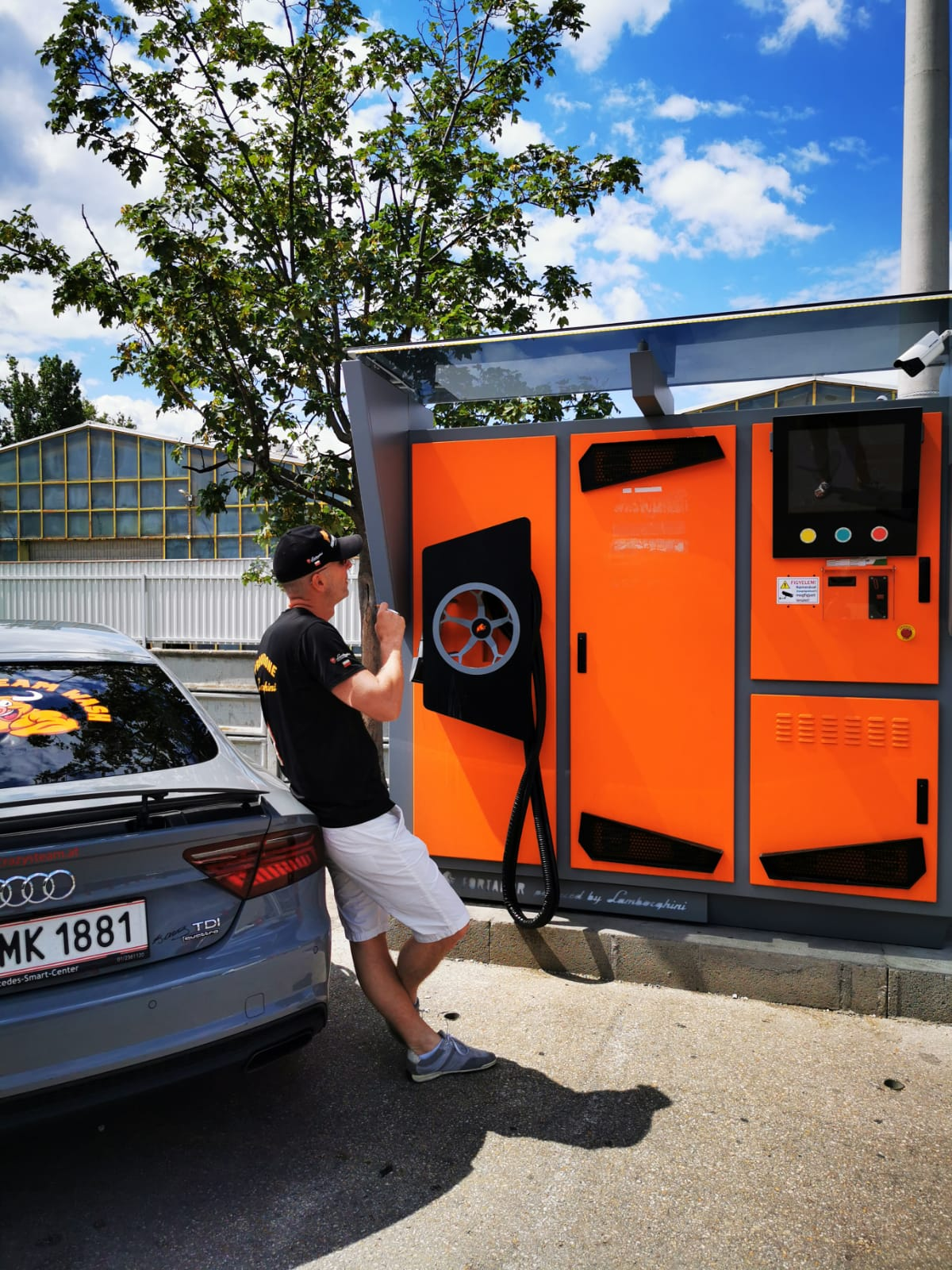 self service car wash machine