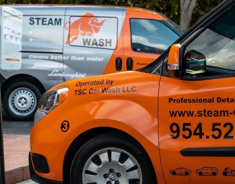 mobile car wash van equipment