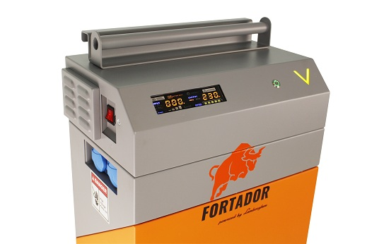 fortador powerbank can be connected to solar batery