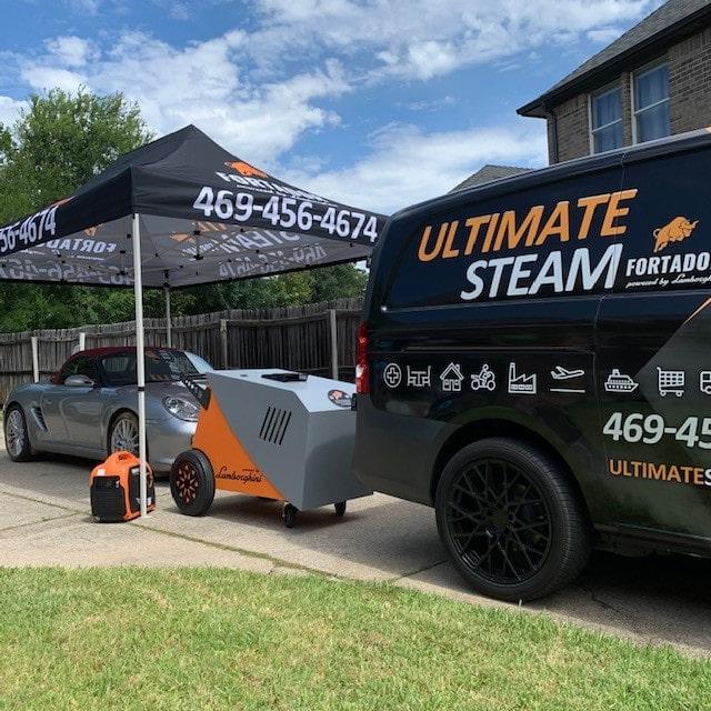 car wash steamer for mobile jobs
