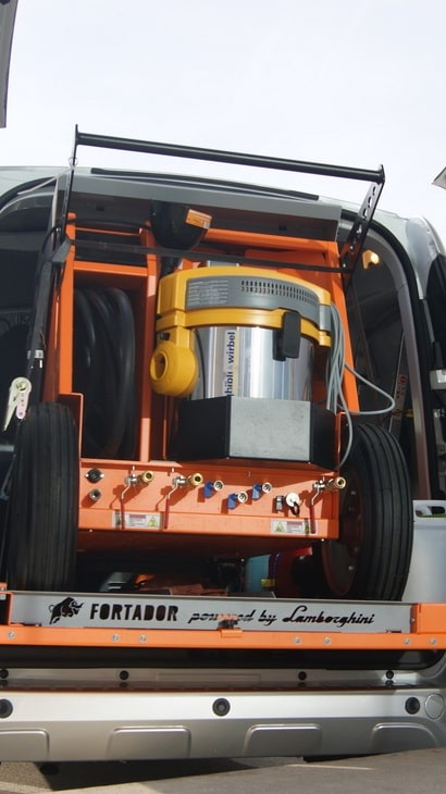 car steamer for mobile carwash