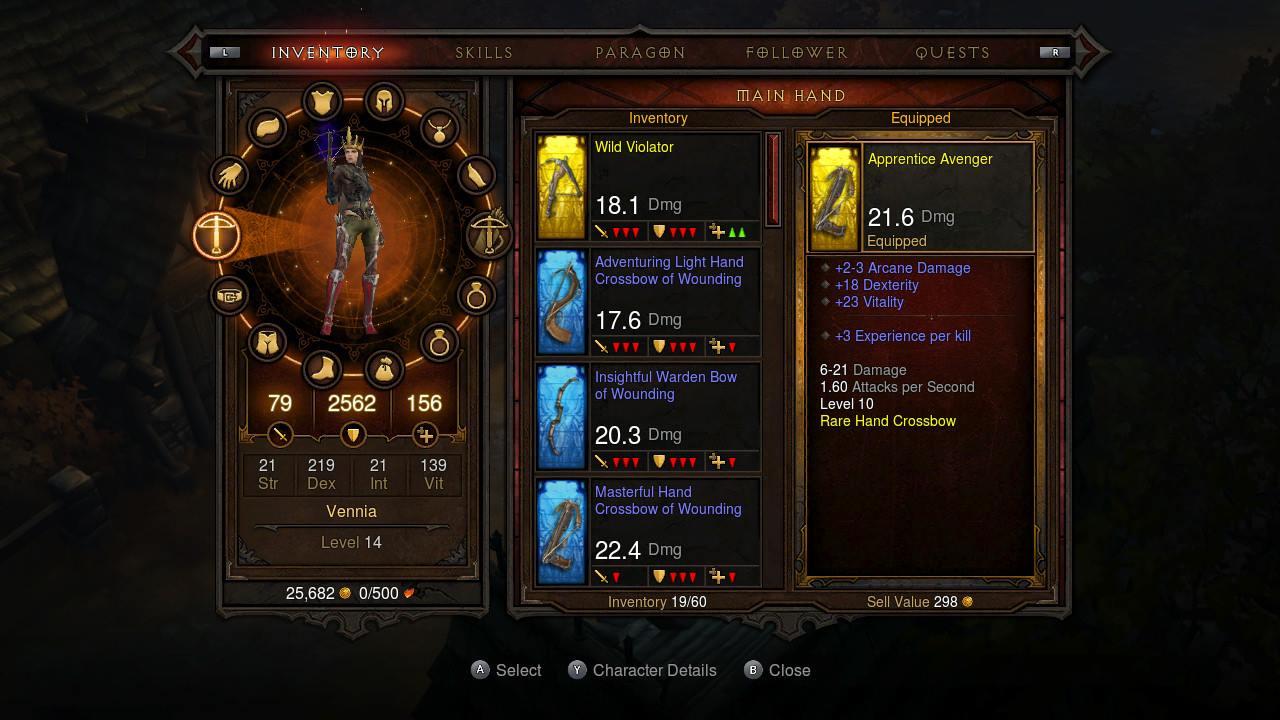 Diablo III: Eternal Collection Review - Jump Dash Roll