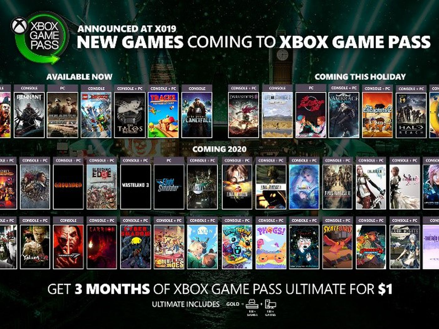 Image result for new games coming to xbox game pass
