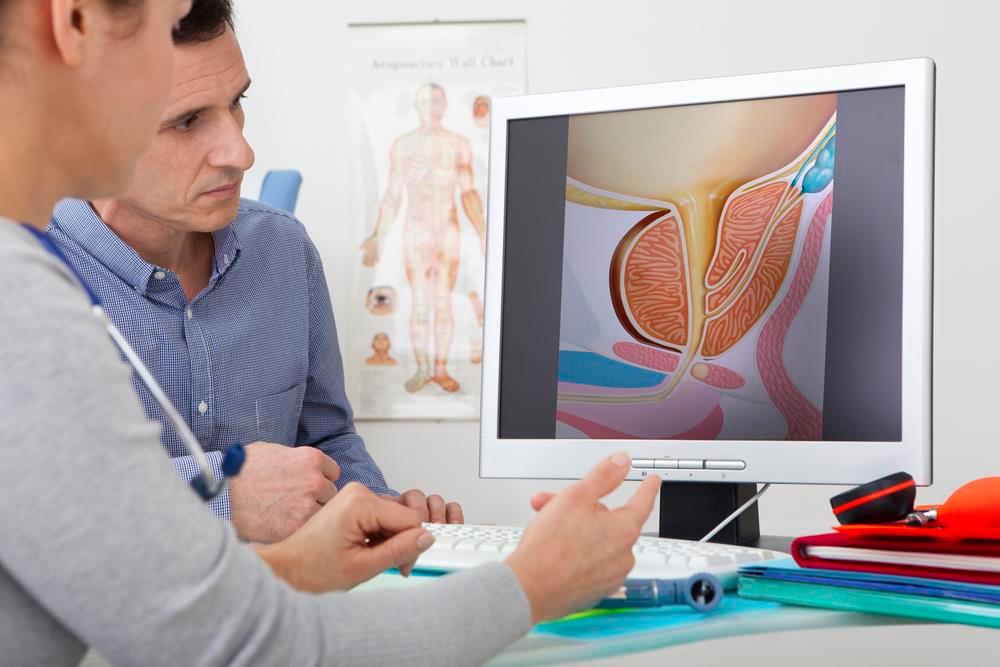 consulta con el urólogo