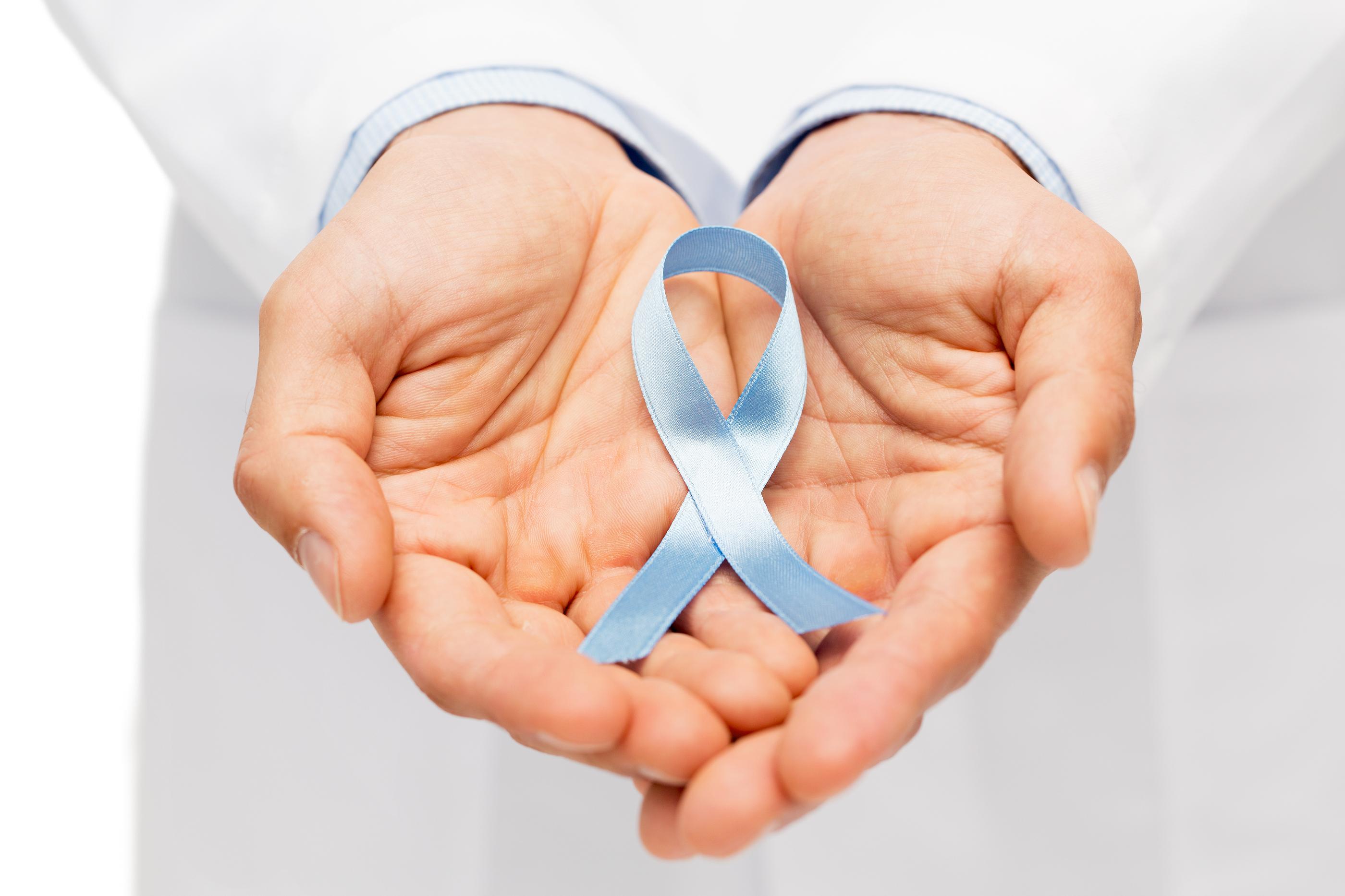 pelotas de golf para el cáncer de próstata
