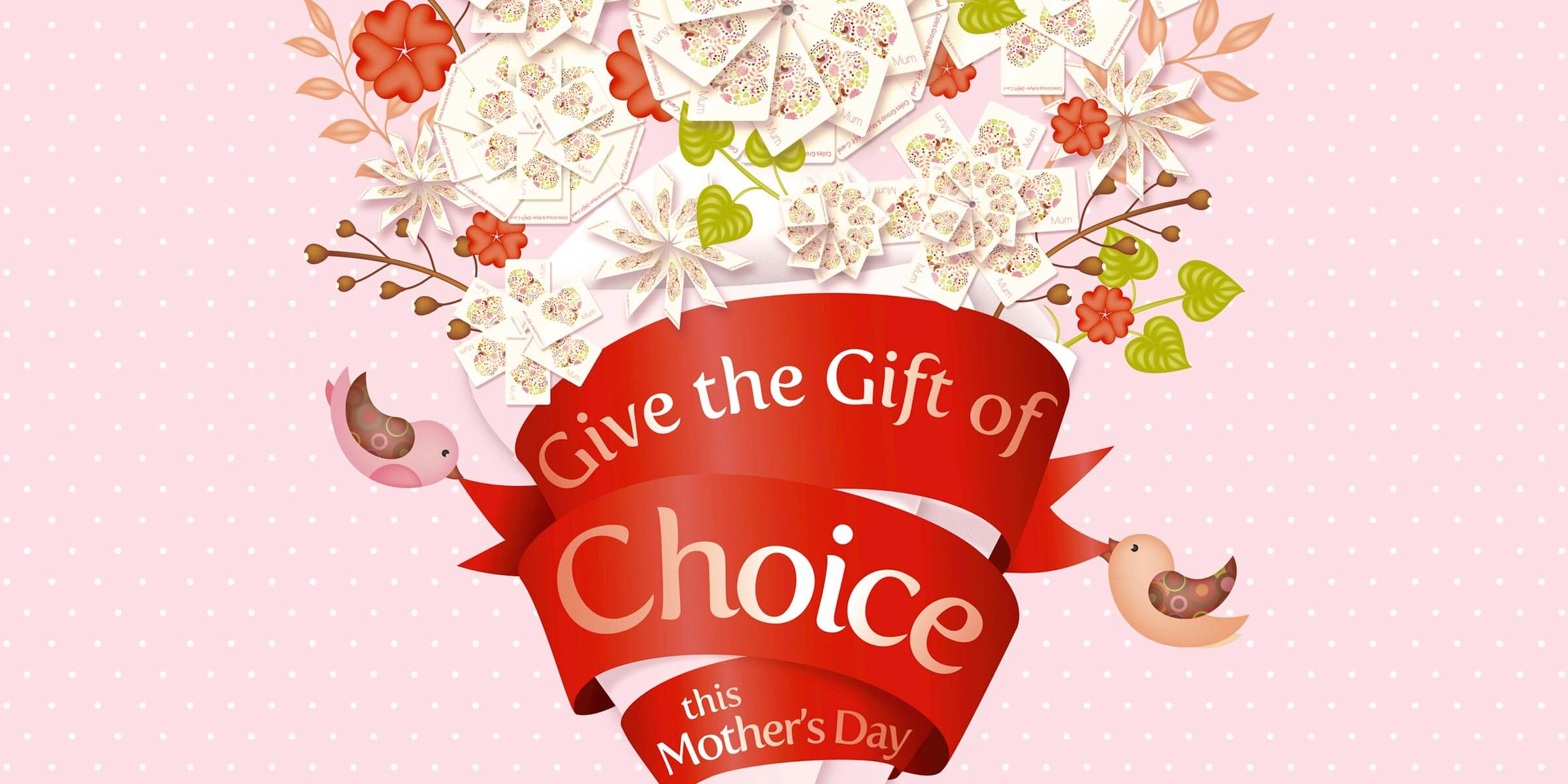 Giving mum 'the gift of choice' in Coles Mother's Day campaign