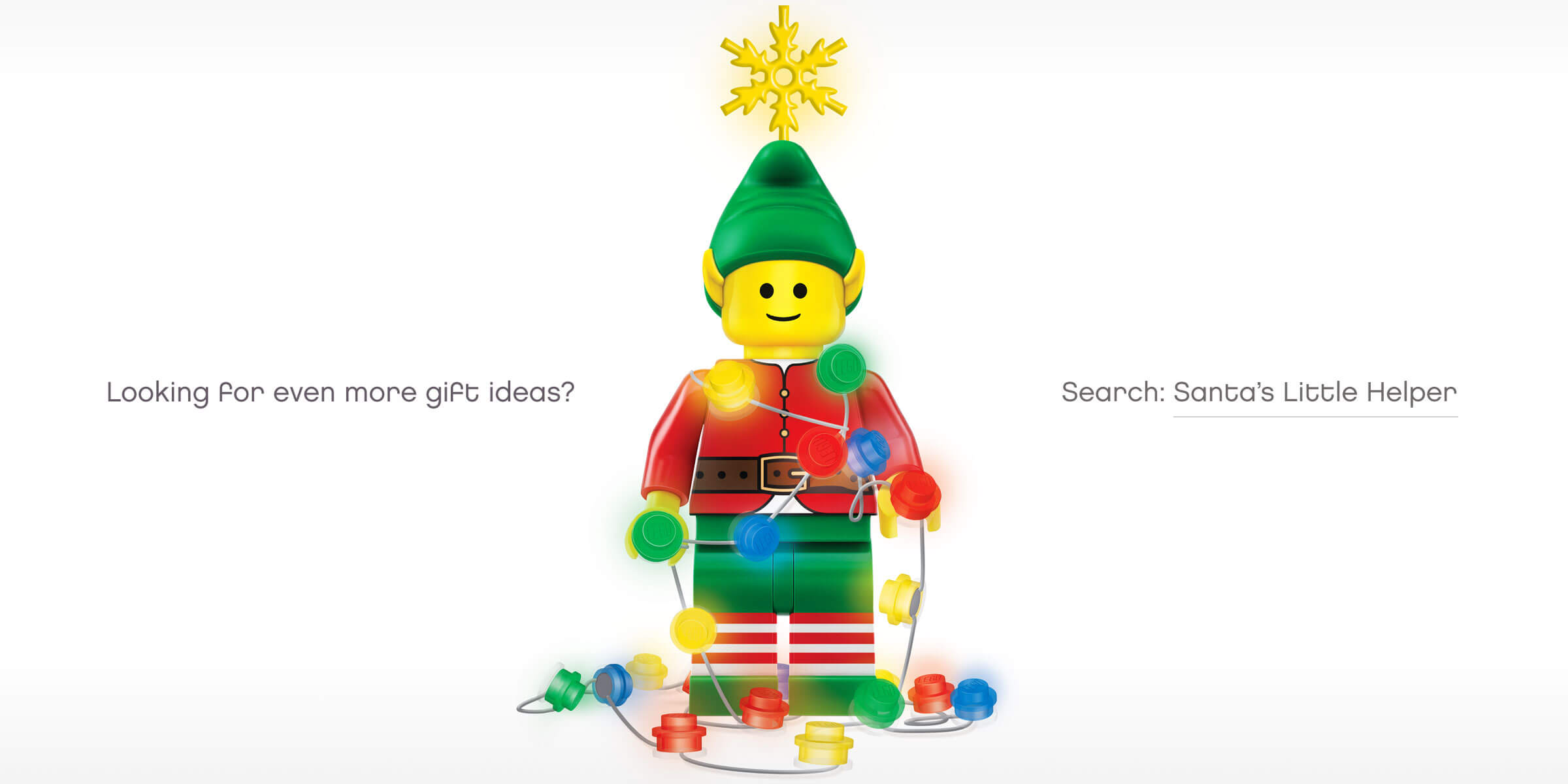 Re-imagining Santa's favourite little helper for Lego's Christmas campaign